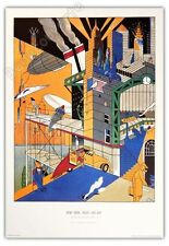 Affiche Offset Ever Meulen New York Night And Day 68x98 cm