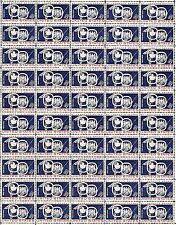 1959 - ST. LAWRENCE SEAWAY - Vintage Full Mint Sheet of 50 U.S. Postage Stamps