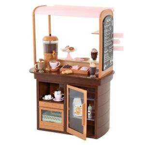 Our Generation Hot Chocolate Stand Stall For 46cm Dolls Children's Toy Shop Play