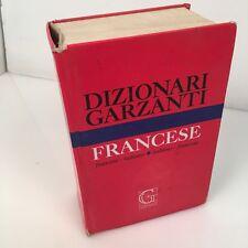 Dizionario dizionari francese italiano garzanti 2001 usato