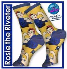 Women's Rosie the Riveter Socks (Yellow)