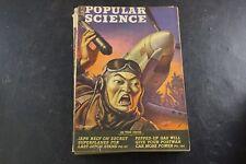 Popular Science Magazine JAPAN Rely on secret Superplanes  JAN 1945