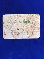 100% ORIGINAL ROLEX CALENDAR CARD 1989/1990 EXCELLENT CONDITION