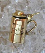 Anhänger als Masskrug Hofbräuhaus Bier Bettel für Armband Anhänger in aus Gold