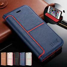 For iPhone 11 XS Max SE2 8+ 7 6s 5 Magnetic Flip Stand Cover Wallet Leather Case