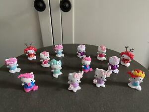 Hello Kitty Figures Bundle Mini Cake Toppers