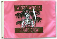 Wicked Wench Boat Flag New Pirate Jolly Roger 3X5Ft Banner Us seller