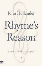 Rhyme's Reason: A Guide to English Verse (Yale Nota Bene), Hollander, John, Very