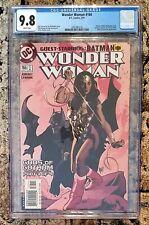 WONDER WOMAN #166 ~ CGC 9.8 ~ BATMAN APPEARANCE ~ ADAM HUGHES COVER ~ DC COMICS