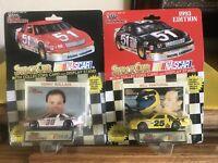 1992 Racing Champions 1/64 Stock Cars NIP Kenny Wallace & Bill Venturini