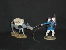 THOMAS GUNN FFL033B FRENCH FOREIGN SOLDIER PULLING DONKEY .