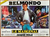 Plakat Le Marginal Jacques Deray Jean-Paul Belmondo Paris 36x48cm