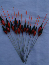 New listing pole floats bargain joblot 11 {image pole floats}mix of 3x10 to 5x12