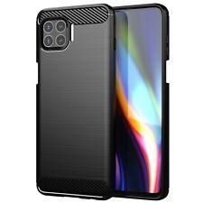 For Motorola Moto G 5G Plus Slim Matte Brushed Cover Soft Case +Screen Protector
