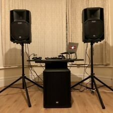 More details for 2100w active rcf pa speaker system (2xrcf art 712-a mk4 & 1x rcf sub 705-as ii)