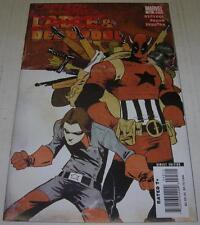 CABLE & DEADPOOL #45 (Marvel Comics 2007) CAPTAIN AMERICA (VF) Skottie Young cvr