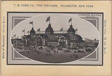 Victorian Trade Card-T B Dunn Co-Rochester, NY-Exposition Building-Chicago, IL