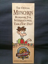 Official Munchkin Bookmark for International TableTop Day - 2014 Gray Version