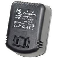 Mercury 651.001 UK Plug to USA Voltage Converter Adaptor 45W Step Down 230-110V