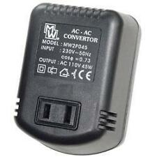Mercury 651.001 UK Plug to USA Voltage Converter Adaptor 45W Step Down 230-110V