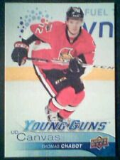 THOMAS CHABOT  16/17 AUTHENTIC UDS2 CANVAS YOUNG GUNS CARD  SP
