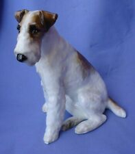 "WIRE HAIRED FOX TERRIER PARAGON ENGLAND 9"" DOG"