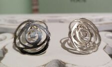 Autentic original Tous silver bear earrings April Rose