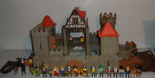 Playmobil Castle #3666+Extras! Over 300 pcs! Pirates, Knights Vintage Geobra Toy