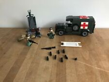 WW2 US Army medic truck and crew, brand new! Mega Blocks and LEGO compatible