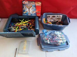 LARGE Joblot Of Knex With 2 Storage Boxes K'nex Bundle