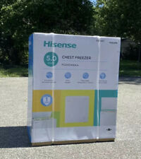 Brand New In Box Hisense 5.0 Cu. Ft. Chest Freezer/ Deep freezer SHIP SAME DAY!