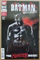 Batman Who Laughs #4 Comic - Cover by Jock