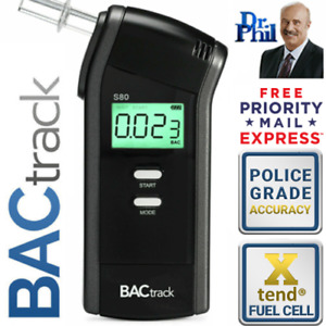 Breathalyzer. Alcohol Breath Tester. BACtrack S80 Pro / XTEND® POLICE FUEL CELL
