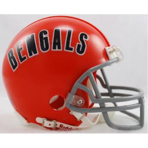 Cincinnati Bengals 1968-1979 68-79 Throwback Riddell Mini Helmet New i box