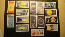 BROOKE BOND OUT INTO SPACE FULL SET ISSUED WITH THE SKY AT NIGHT PLANETS STARS