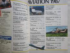 6/1987 SCIENCE ET VIE SPECIAL AVIATION 1987 SALON BOURGET RAFALE AERONAUTIQUE