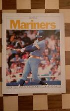 Toronto Blue Jays v Seattle Mariners Scorebook vol 3 no.12 1979 Programme