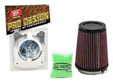 KFX450 Air Filter Pro Design K&N Pro Flow Kawa Dual Stage Kit Outerwear Intake