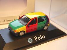 Volkswagen VW Polo Type 6n Arlequin d'Arlequin Harlequin, HERPA 1:43 Dealers en boîte!