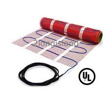Floor Warming Heating Mat, 120V Underfloor Electric Heat System, Sticky Mesh