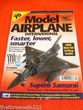 MODEL AIRPLANE INT - SUPER SAMURAI - APRIL 2009 # 45
