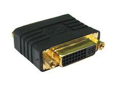 Gp1012 DVI-I Gender Changer placcato oro Contatti 29 pin da femmina a femmina Adattatore