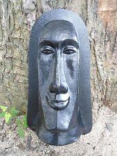 tiki concrete mold plaster mold  Easter Island tiki mold