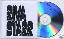 RIVA STARR I Was Drunk UK 3-mix promo test CD + PR Noze