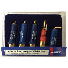 WBT-0110 Cu Schachtel nextgen™ Cinchstecker 2x rot und 2x weiss 853818