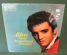 Elvis Presley Sings Inspirational Favorites LP SEALED 1983 Readers Digest