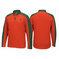 Miami Hurricanes Adidas NCAA Men's Orange Sideline Climalite Knit
