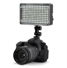 160 LED Video Light for Canon 5D Mark II 7D 60D T1i T2i T3 T3i EOS-1DX