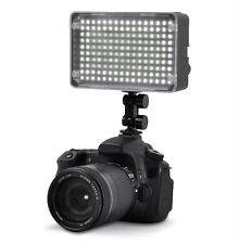 160 LED Video Light for Canon 5D Mark II 7D 60D T1i T2i T3 T3i EOS-1DX