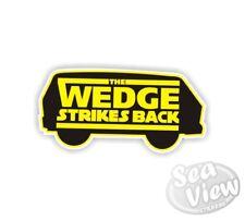 Wedge Strikes Back VW Volkswagen JDM Euro Funny Car Van Stickers Decal Sticker